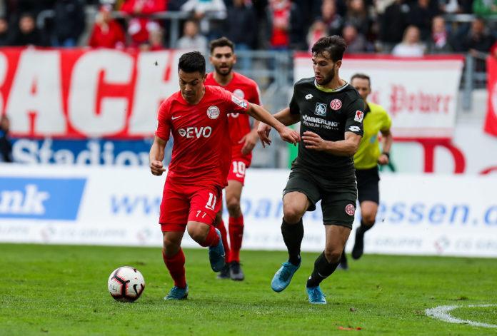 Regionalliga Südwest Kicker